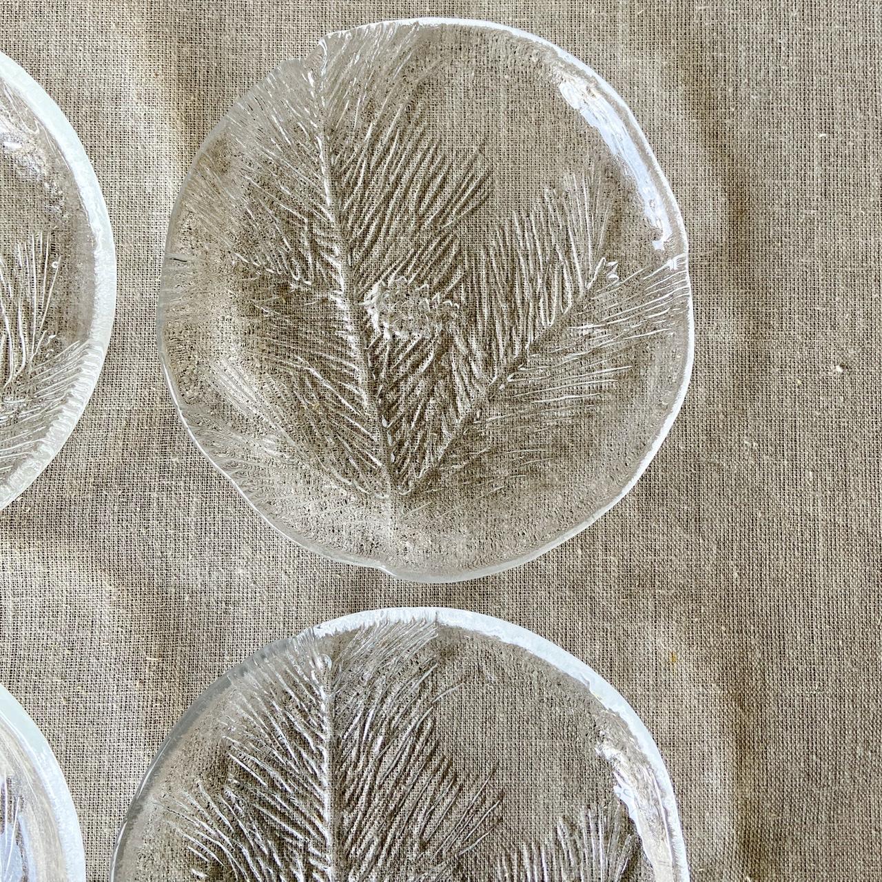 Glasassietter, set om fyra