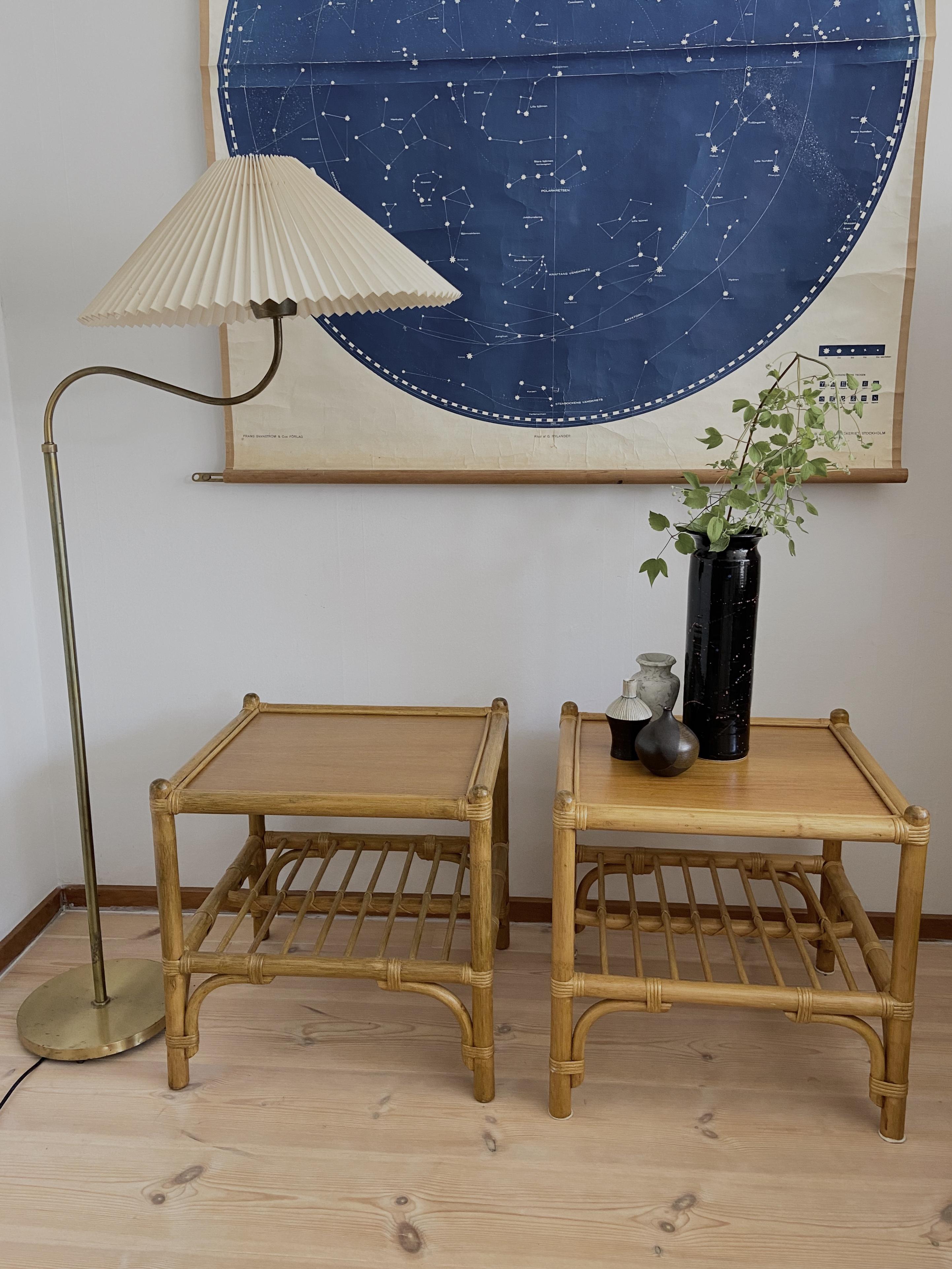 Paret avlastningsbord/sängbord