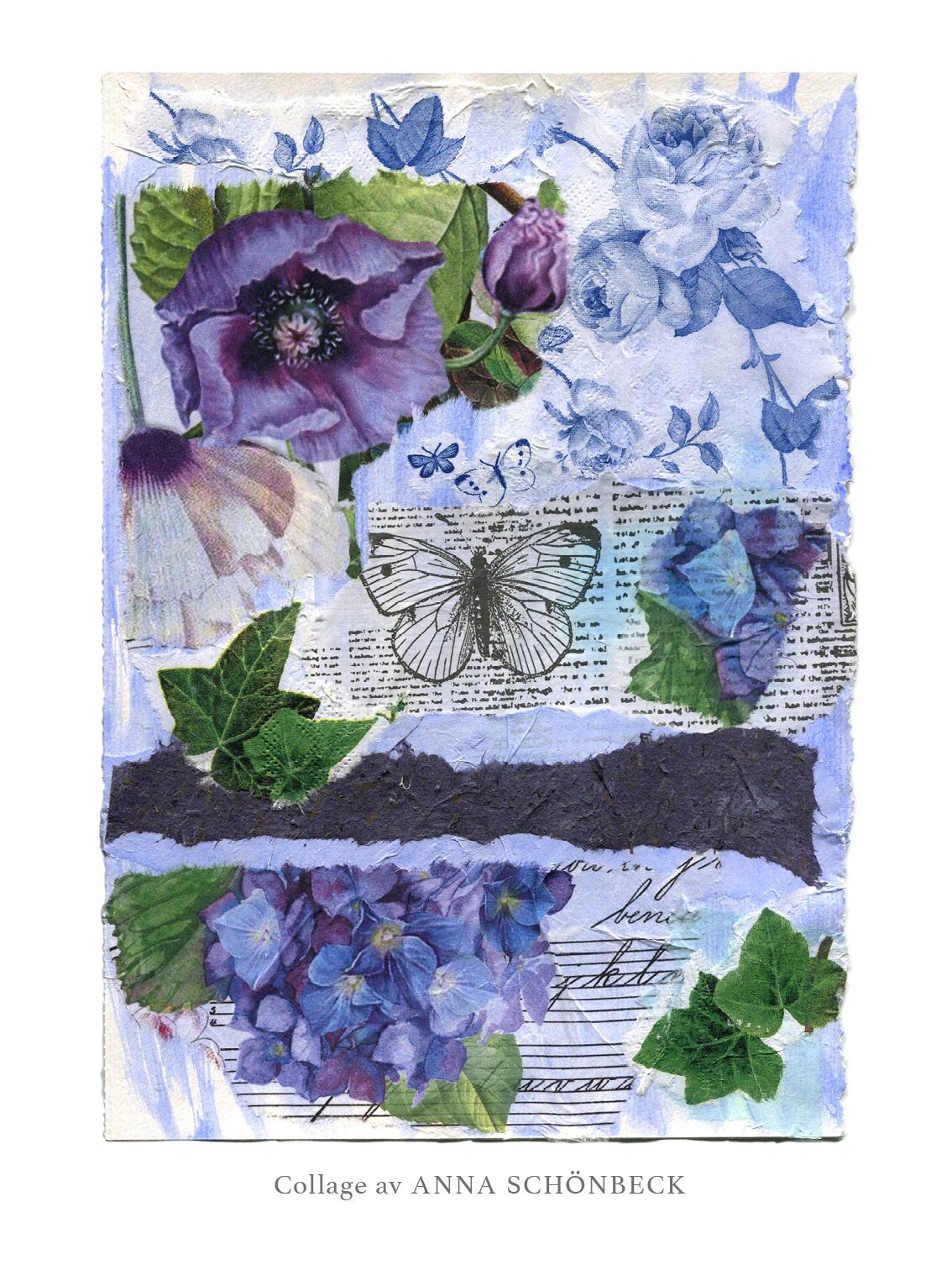Collage 15, av Anna Schönbeck
