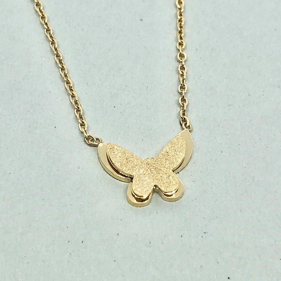 Halsband - Butterfly Gold (Tilva)