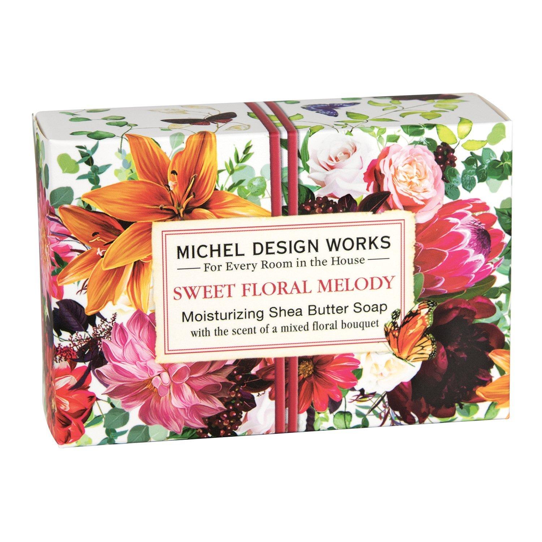 Tvål   Sweet Floral Melody - Michel Design Works