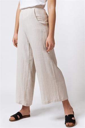 Thalia Linen Pants Linen Sand byxor