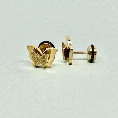 Örhängen - Butterfly Gold  (Tilva)