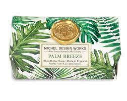 Tvål - Badtvål Palm Breeze Michel Design Works (stor)