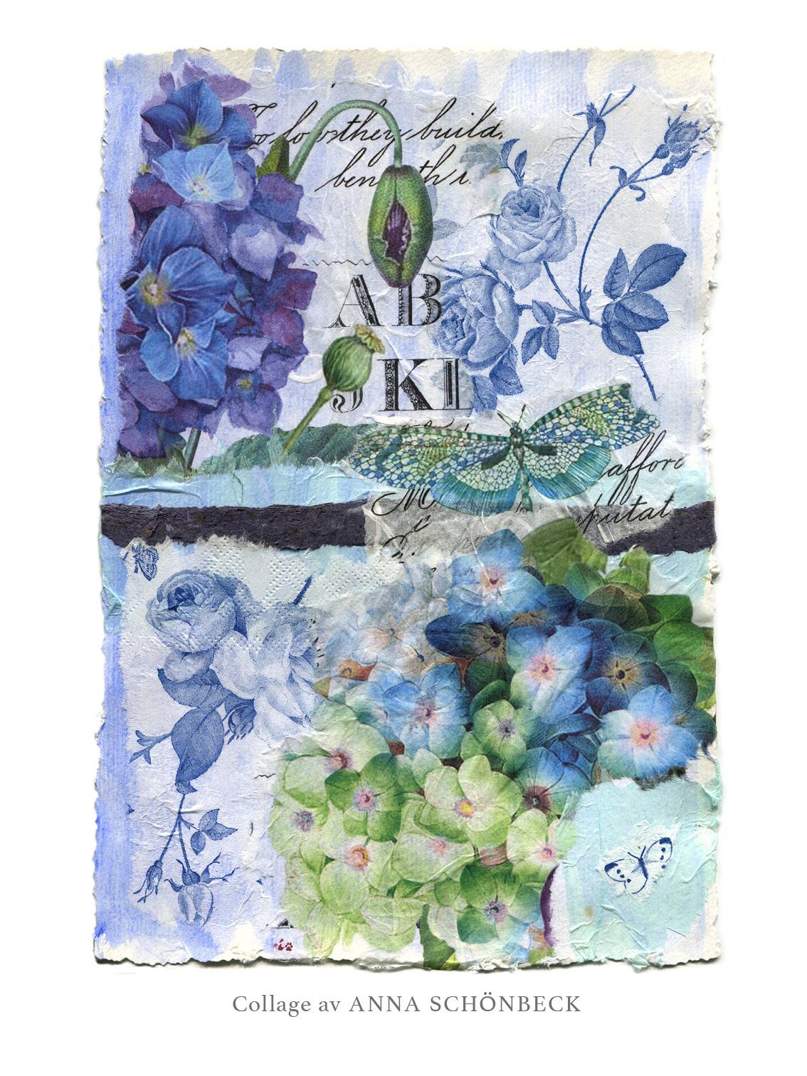 Collage 17, av Anna Schönbeck