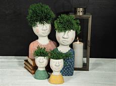 Blomkruka betong (barn grön)