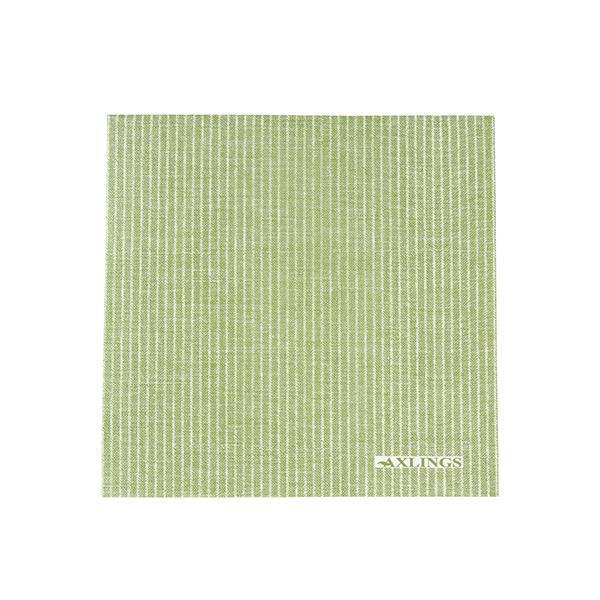 Servetter kritstreck grön 50 st Axlings