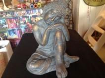 """Buddha - mindre defekt  (OBS! Skickas ej - Se vidare """"Hämtas i butik"""" i huvudmenyn)"""