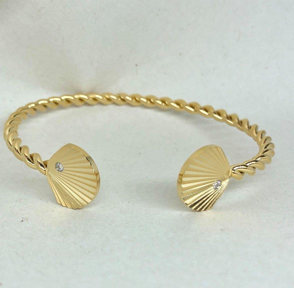 Armband - Summer Shell Gold (Tilva)