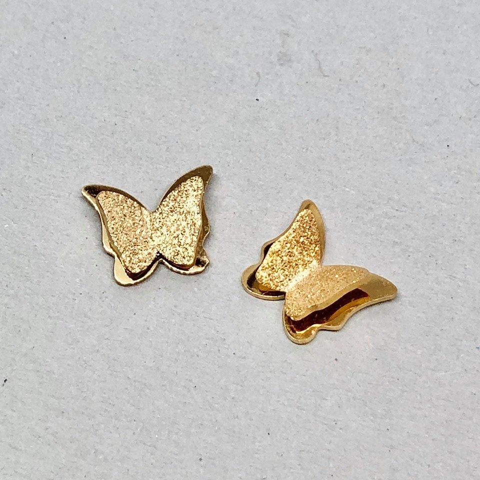 Örhängen - Butterfly Gold mini (Tilva)