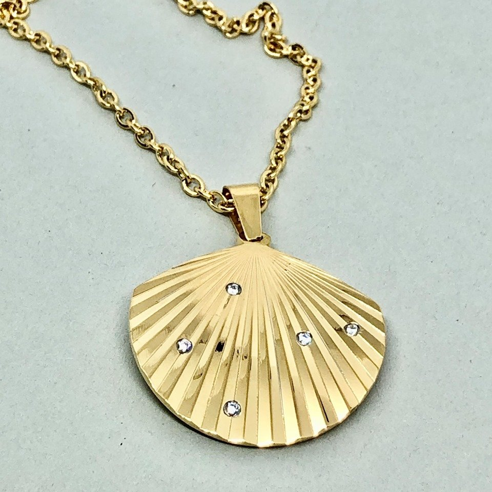 Halsband - Summer Shell Gold (Tilva)