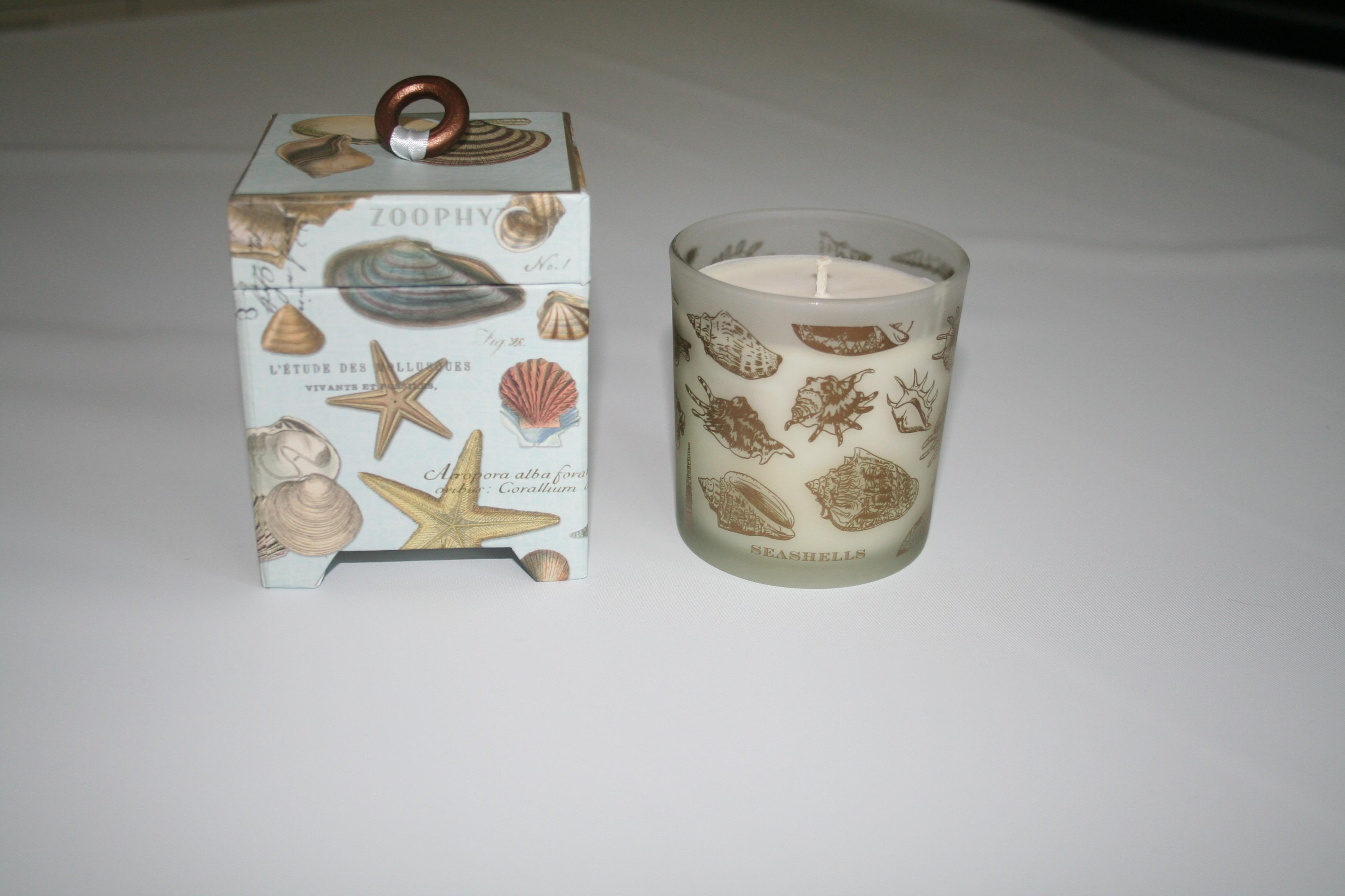 Doftljus Seashells  - Michel Design Works