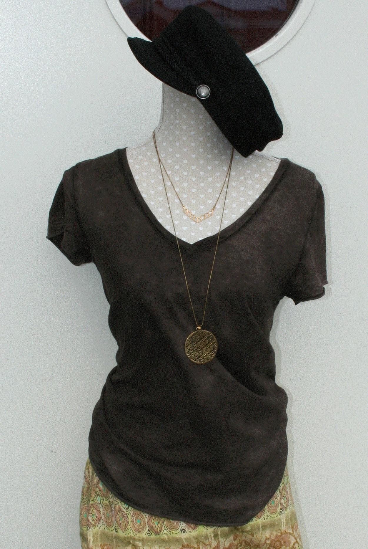 T-shirt Brun (Stajl)