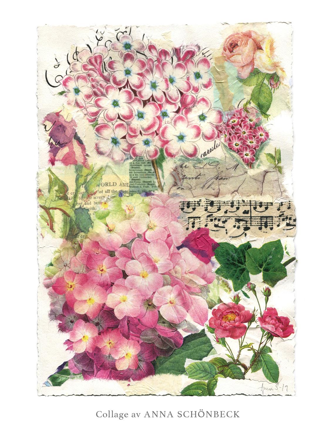 Collage 14, av Anna Schönbeck