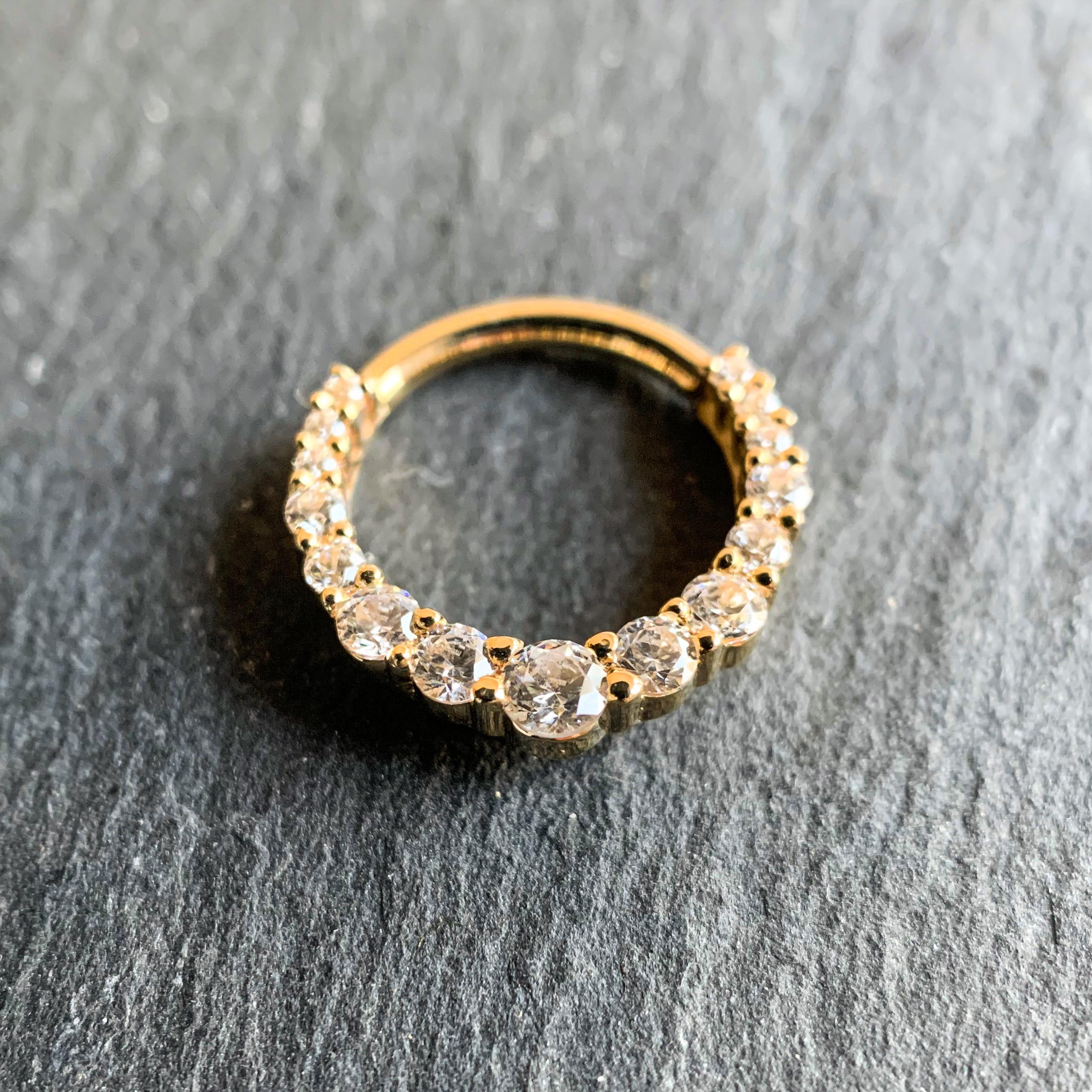 BVLA 14k Echtgold Ring Oaktier