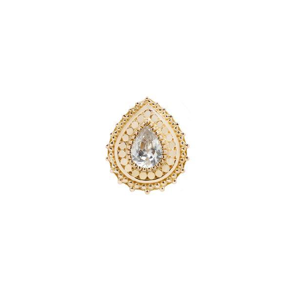 Buddha Jewelry 14k AJA threadless end gelbgold