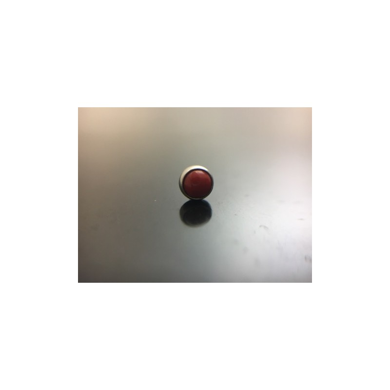 NeoMetal Cabochon red coral