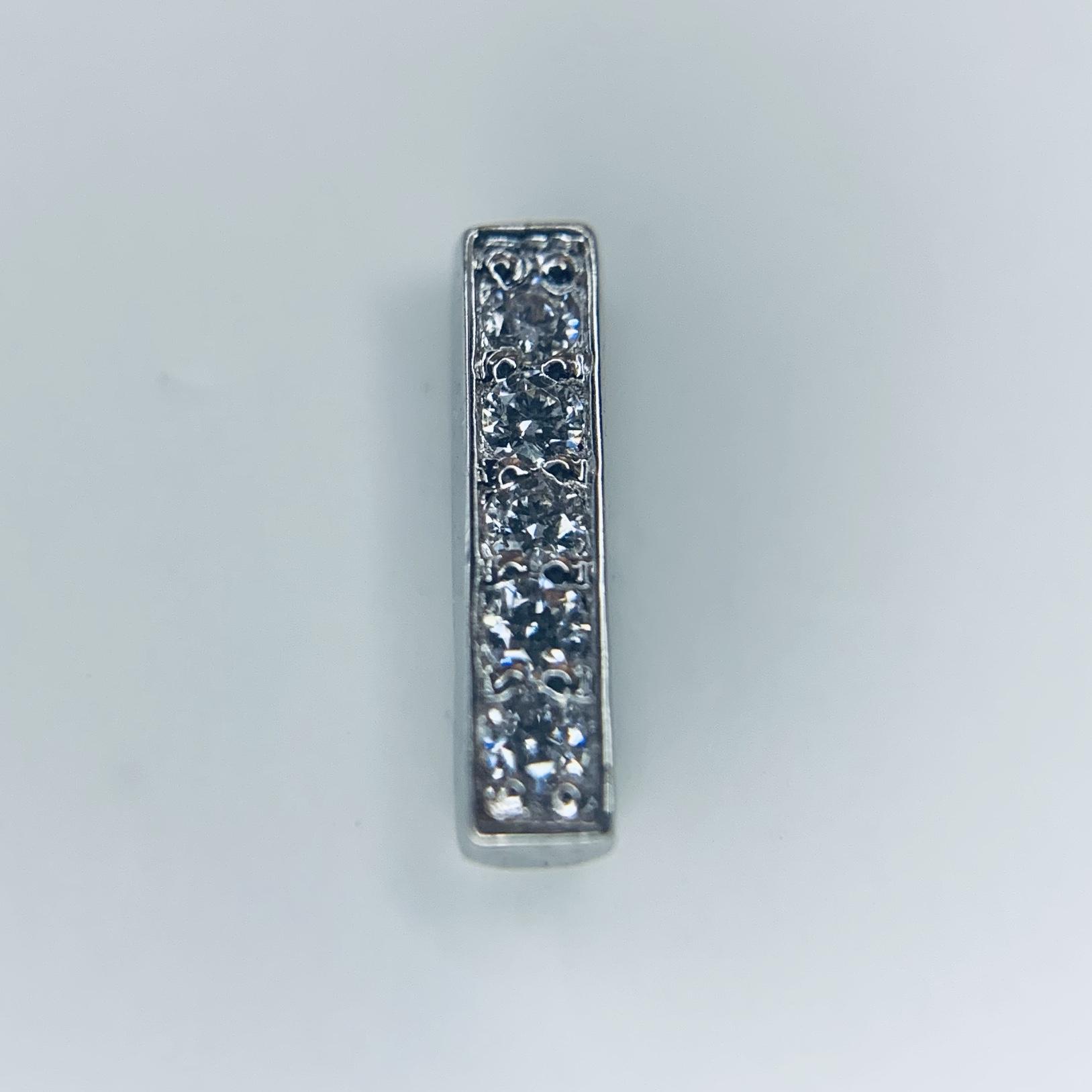 Auris 14k Echtgold Aufsatz Cascade Diamond