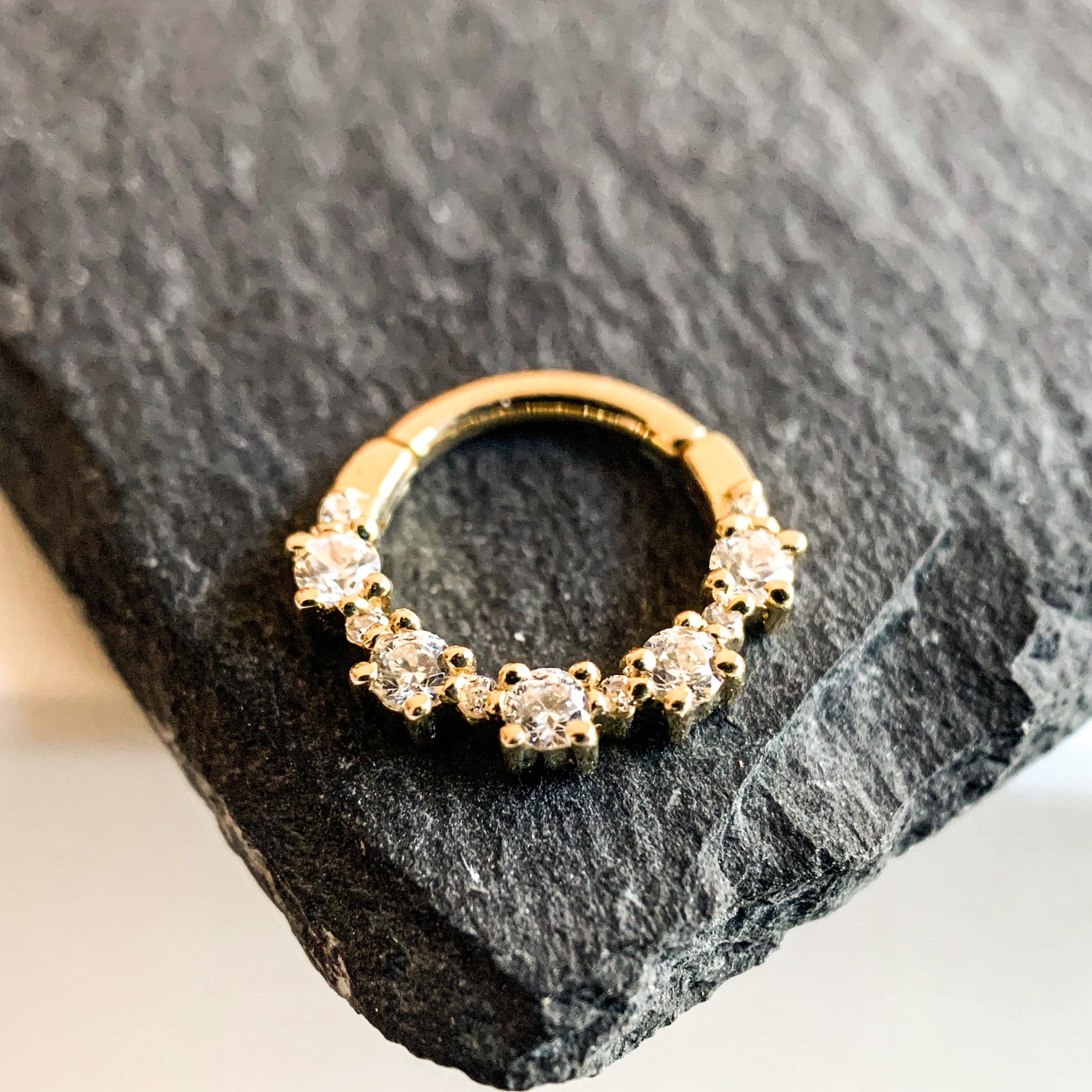 BVLA 14k Echtgold Ring Setevos