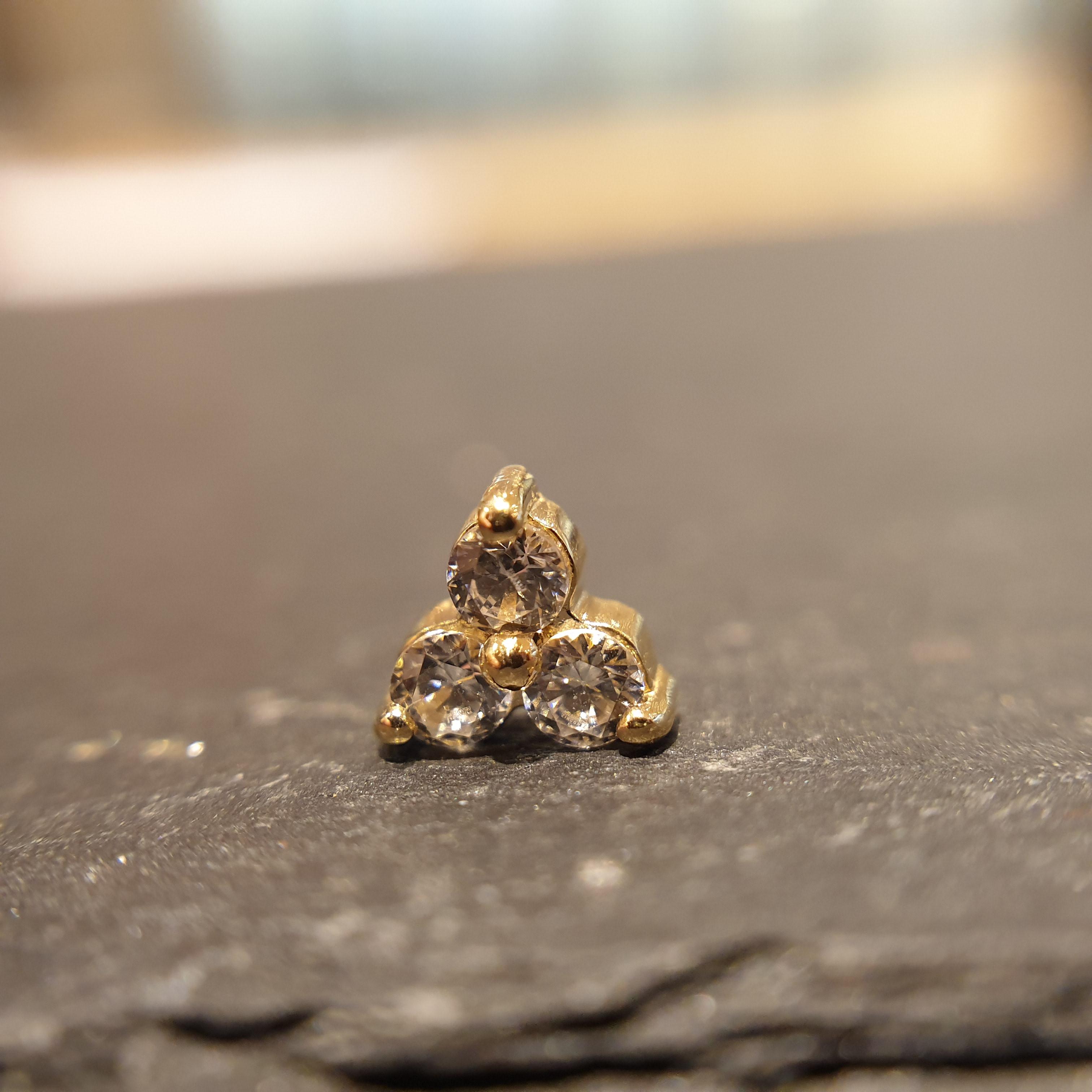 NeoMetal Trinity Echt(gelb)gold cz