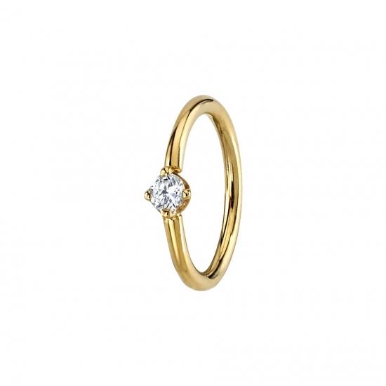 Anzahlung BVLA Tatjana Diamant Ring Gelbgold