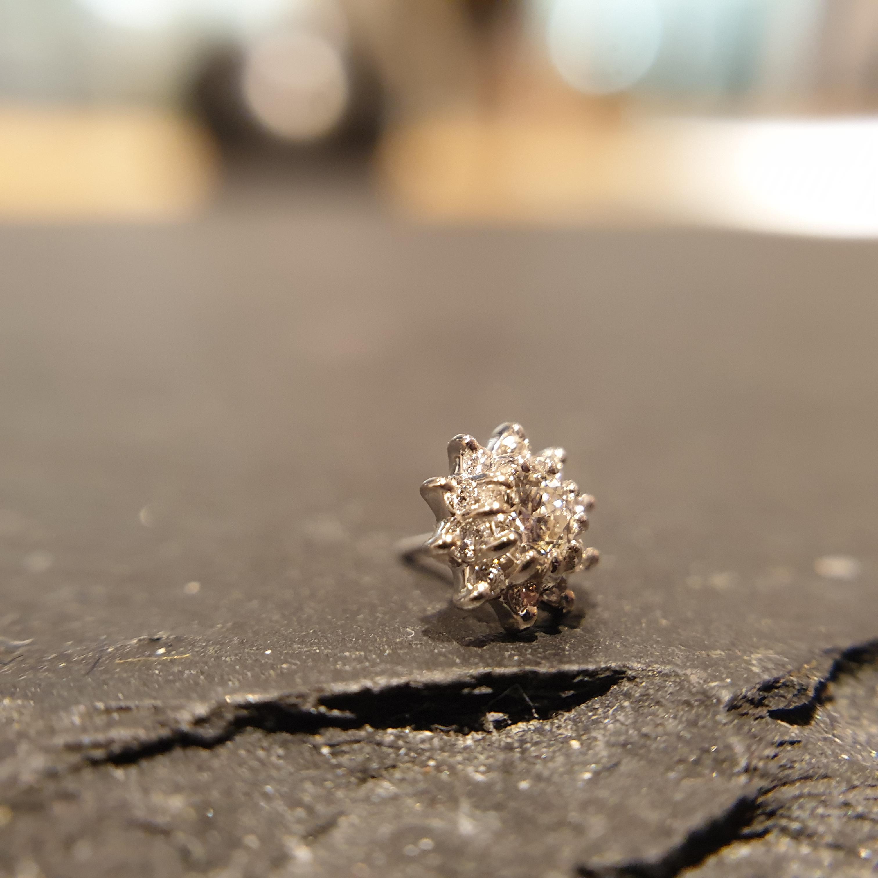 Auris 14k Gold ASTRA Diamant