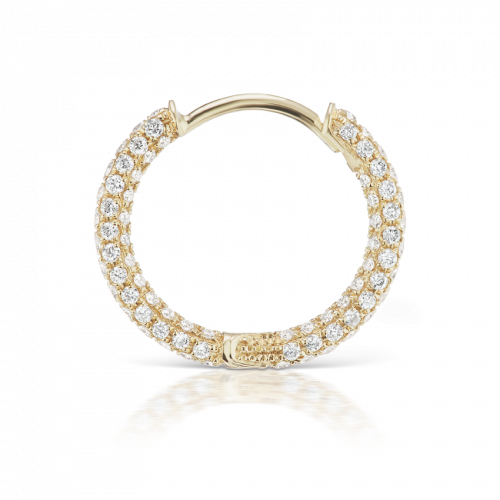 Maria Tash 5 Row Diamond Pave Ring