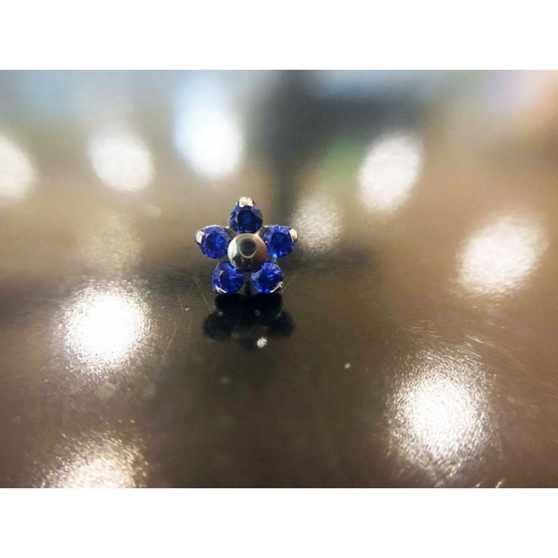 NeoMetal Titan Blume Sapphire CZ