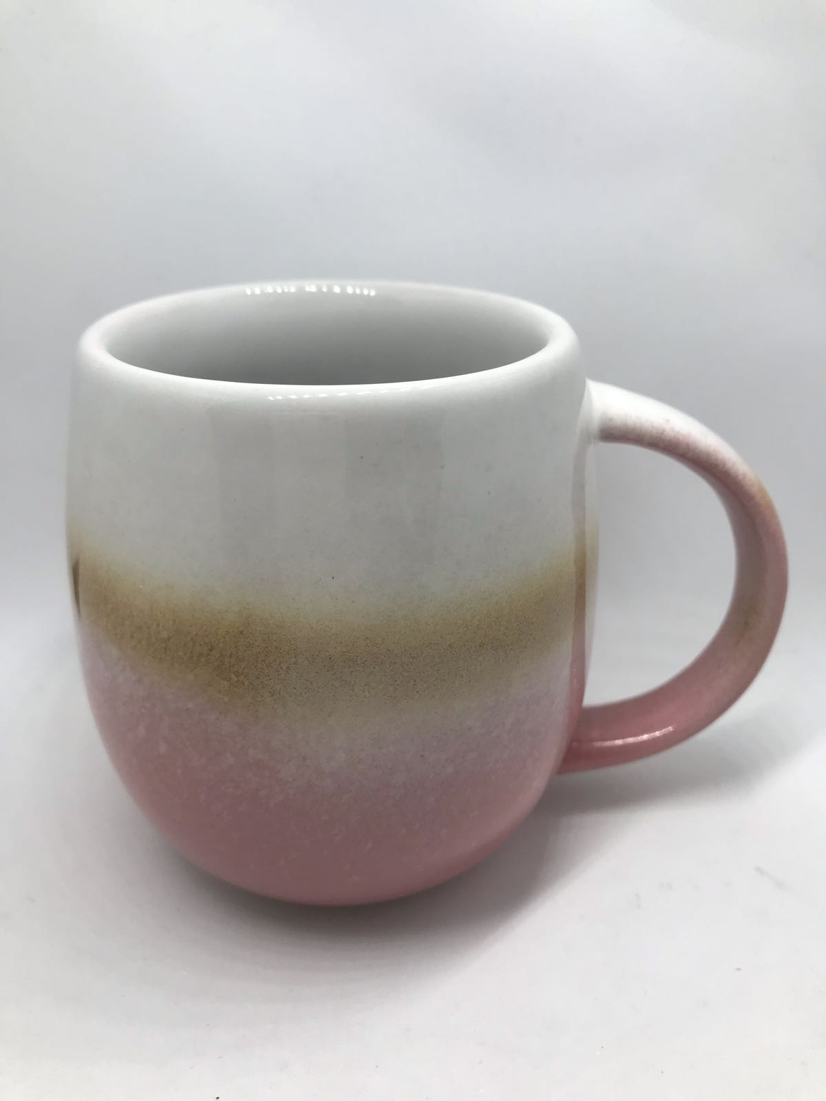 Pink ombre mug