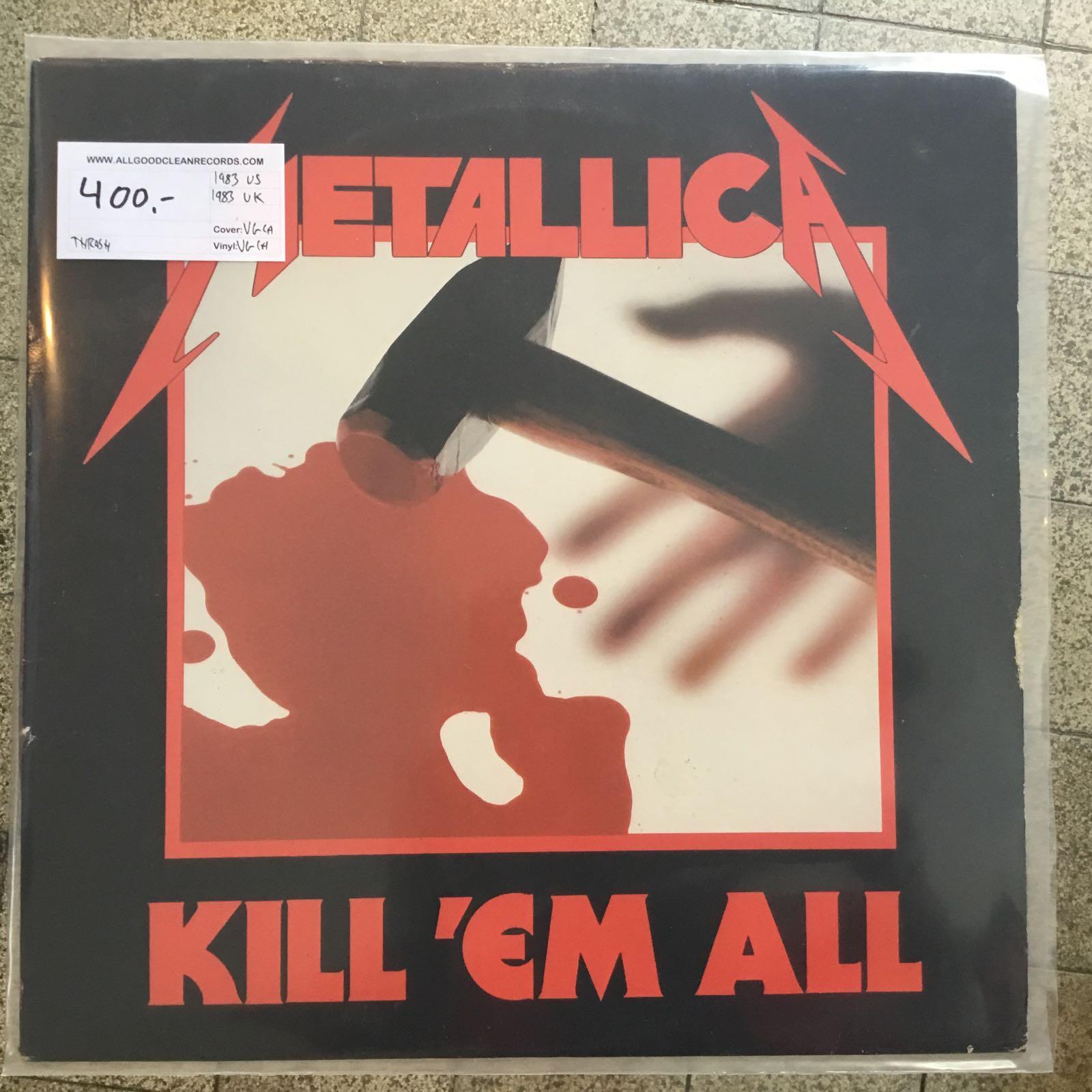 Metallica – Kill 'em All [LP] (2. hand)
