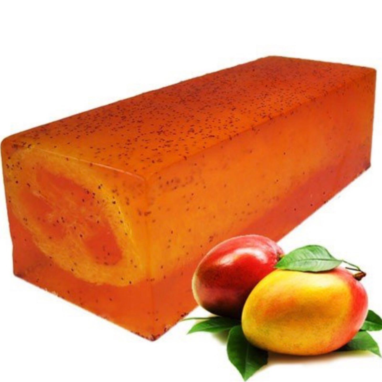 Mighty Mango Loofah Soap Slice