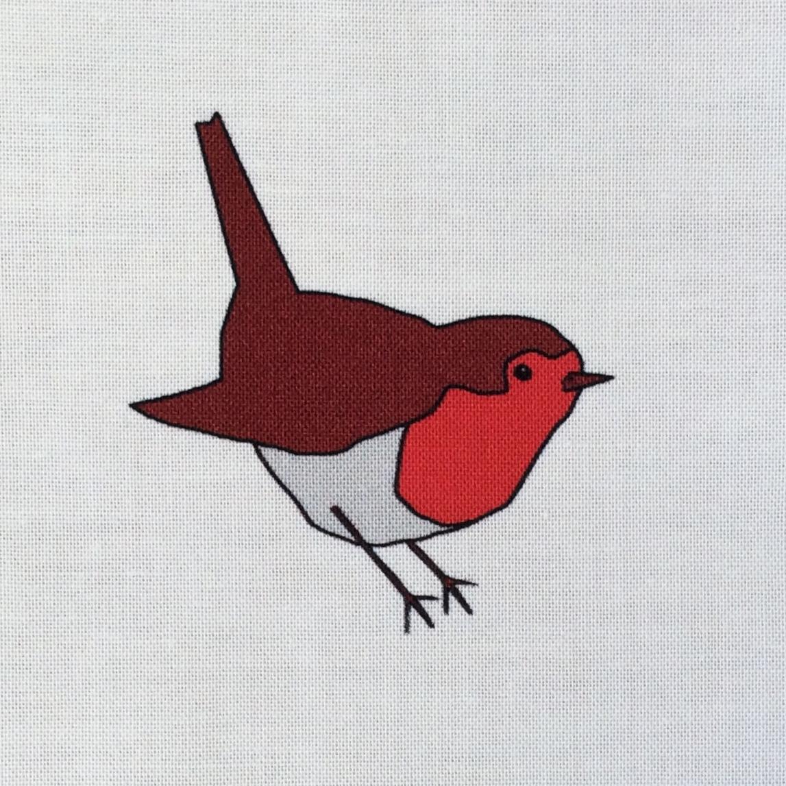 Robin fabric strip