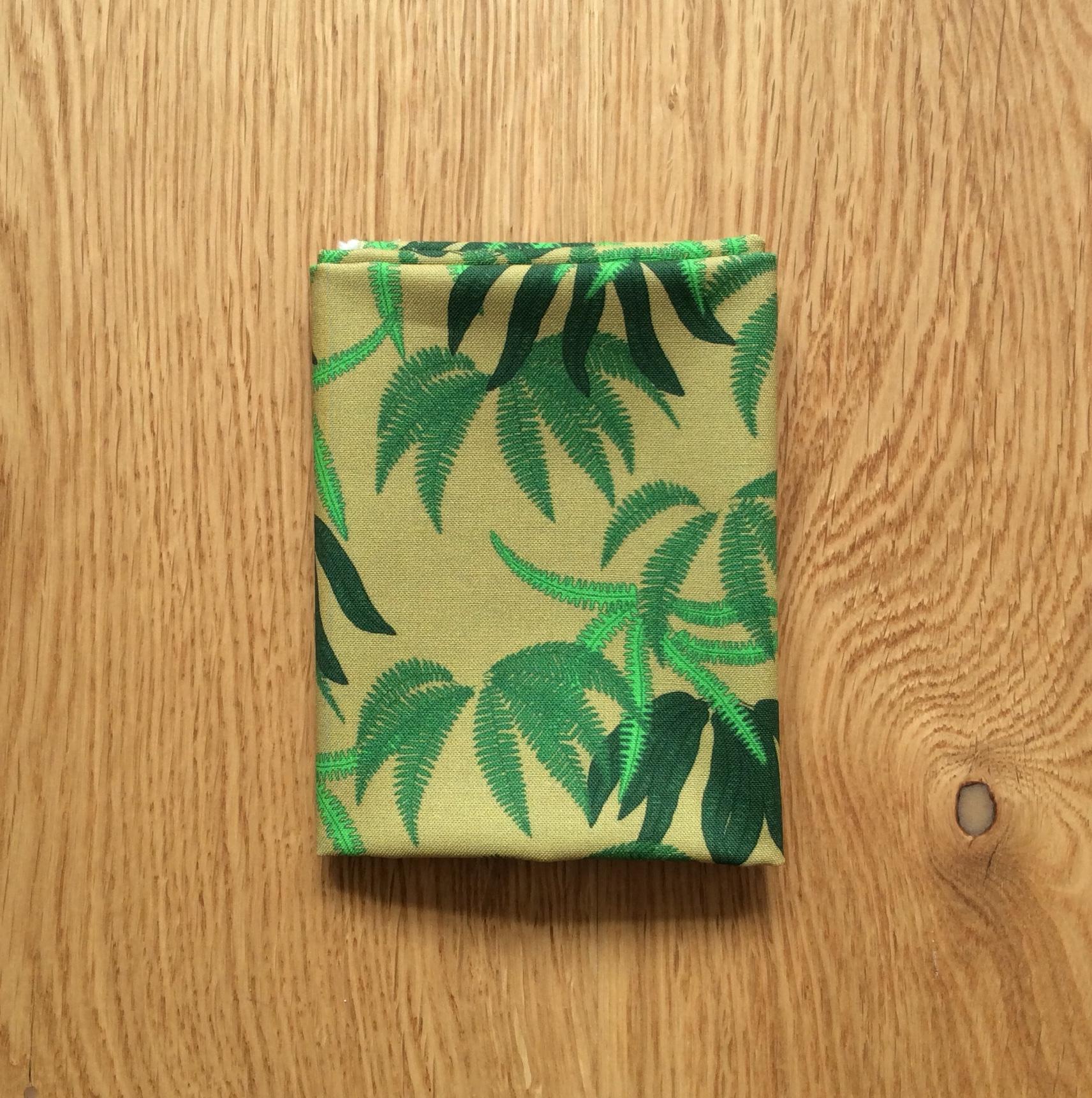 Woodland fern fabric fat quarter