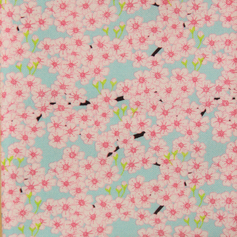 Cherry blossom fabric fat quarter