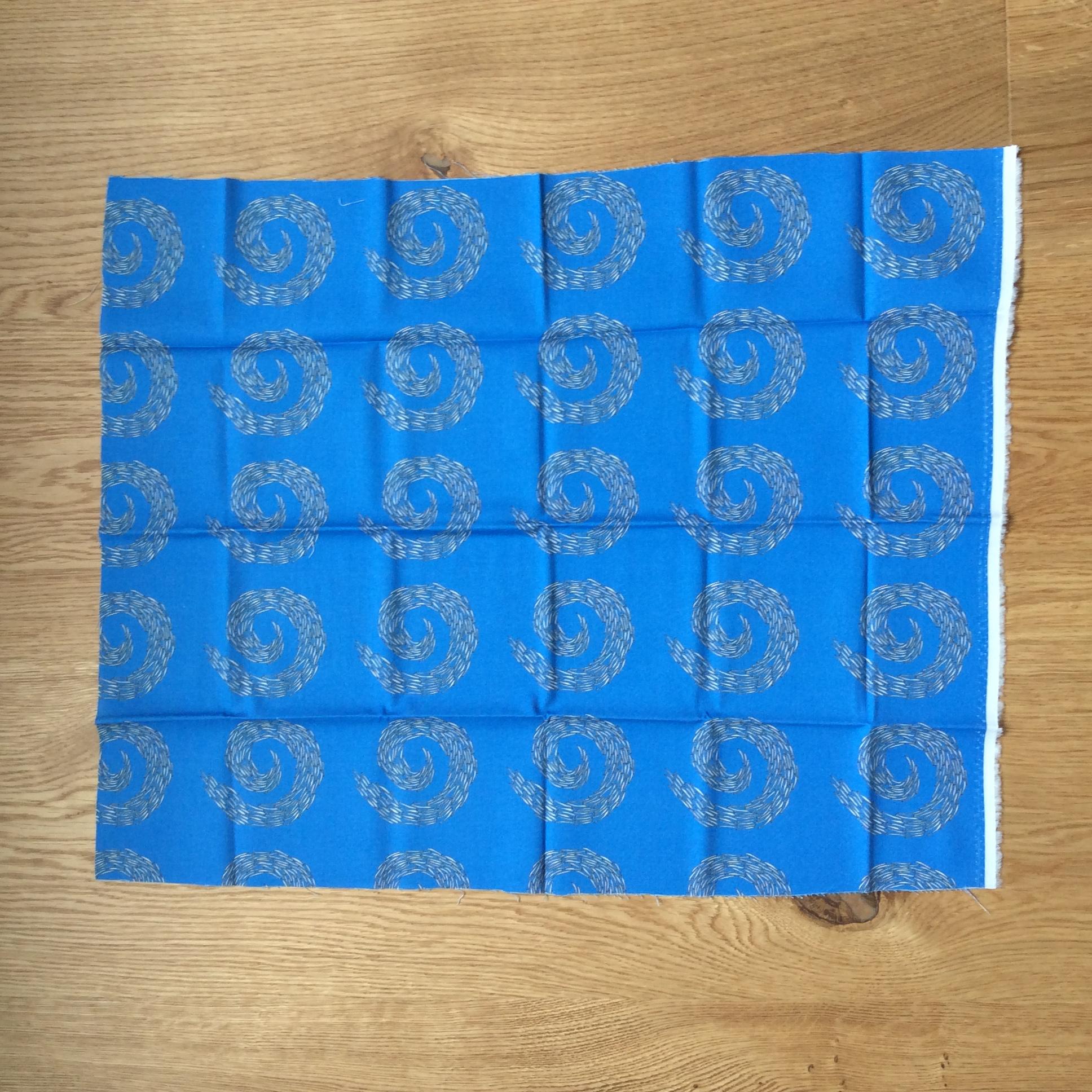 Sandeel swirl fabric fat quarter