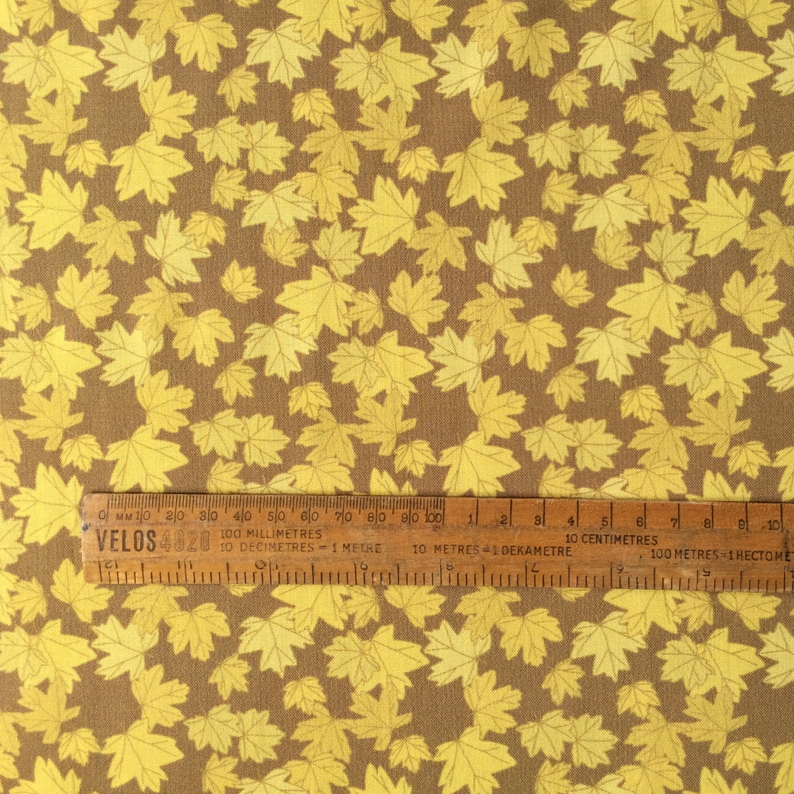 Maple leaves fabric fat quarter