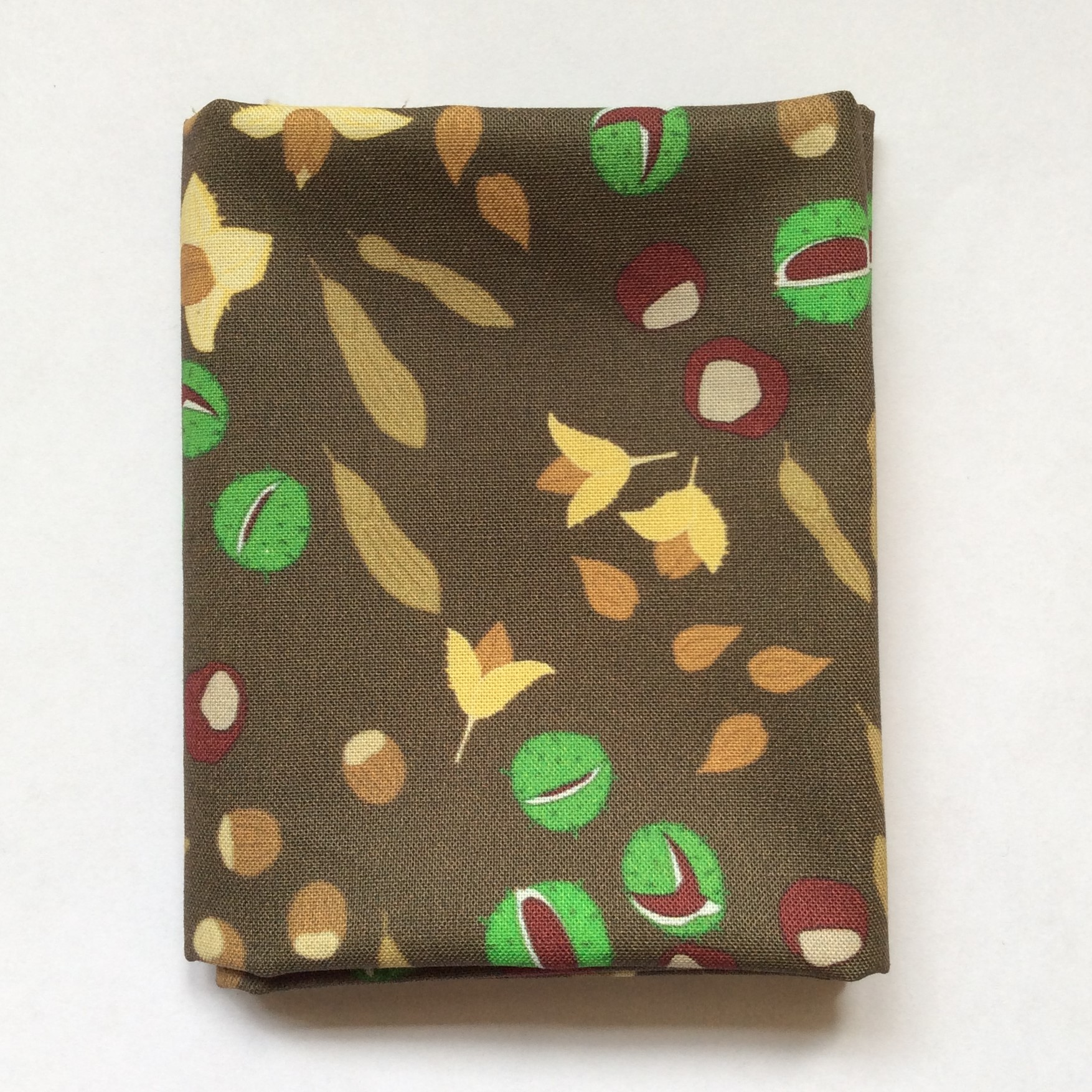Nuts and seeds fabric fat quarter