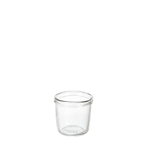 Värmeljushållare Astra i glas Ø11xH10 cm