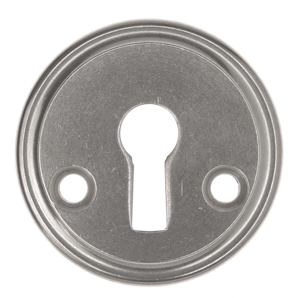 Nyckelskylt par 5431A. För genomgående montering, nyare dörrar.