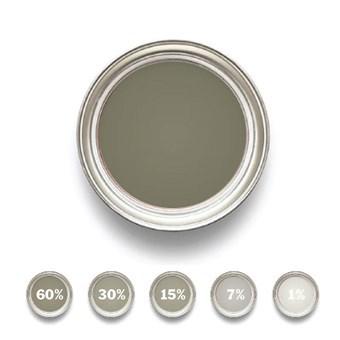 Linoljefärg Grönjord