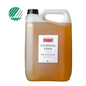 Linoljesåpa Gysingesåpa 0,5 2,5 & 5 liter