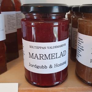 Marmelad Jordgubb/Honung Soltäppan