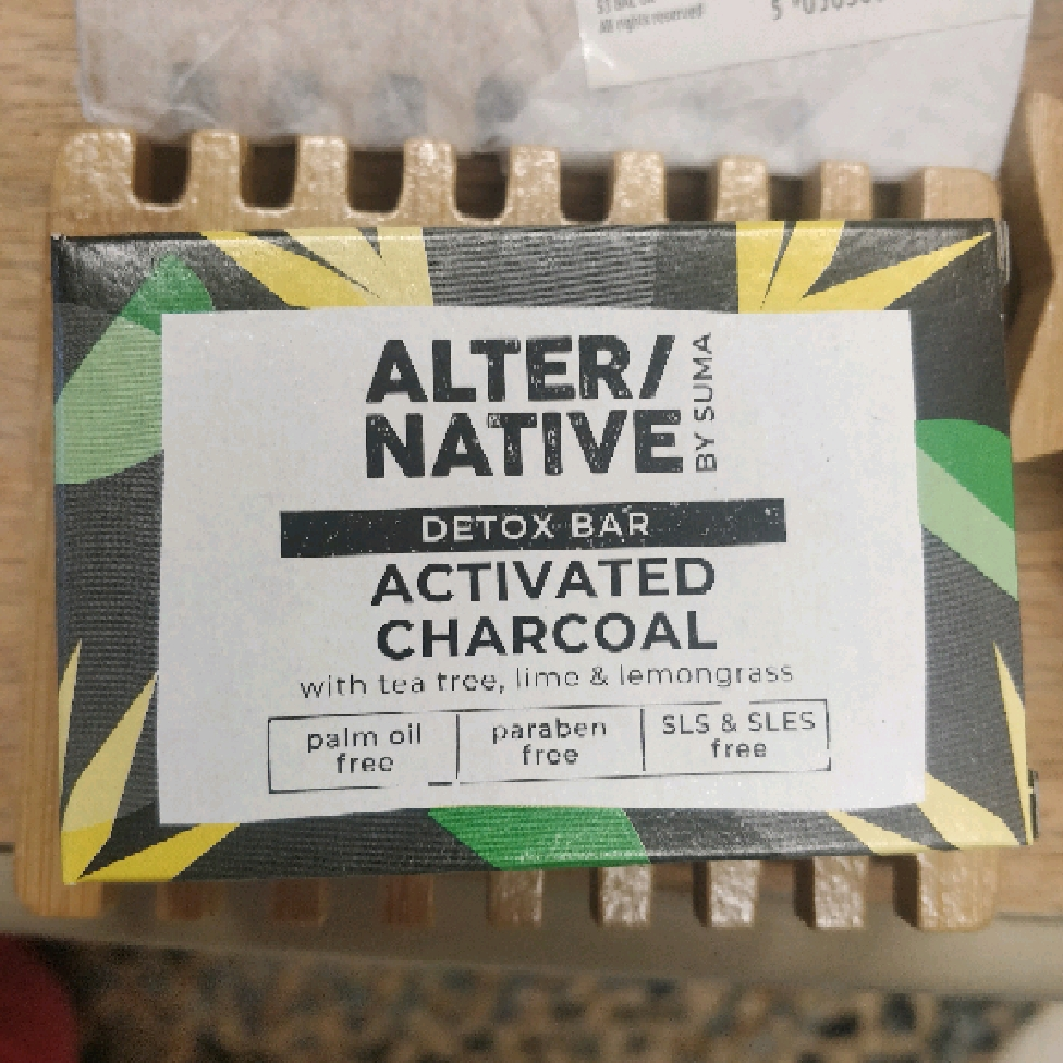 Alter/Native Activated Charcoal Soap