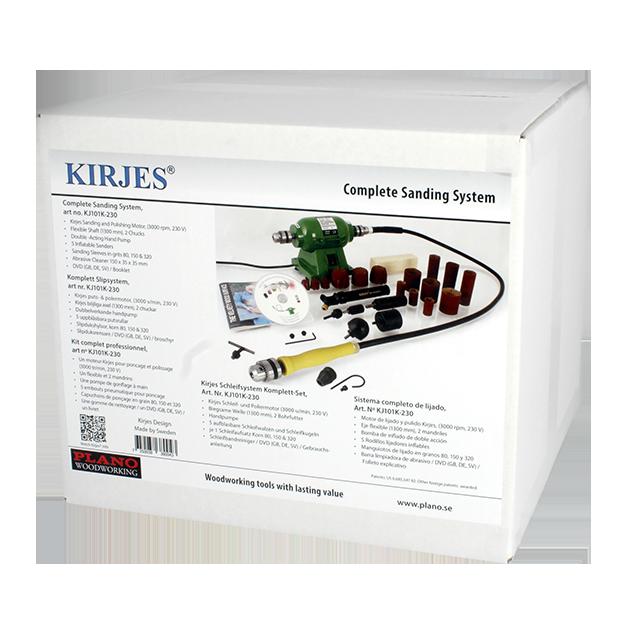 KJ101K-230 - Kirjes Komplett slipsystem
