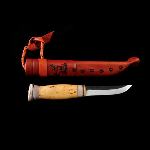 Nr 13 - Vildmarkskniv stor 95 mm