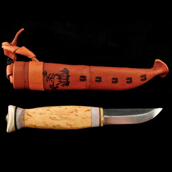Nr 14 - Vildmarkskniv mellanstor 75 mm