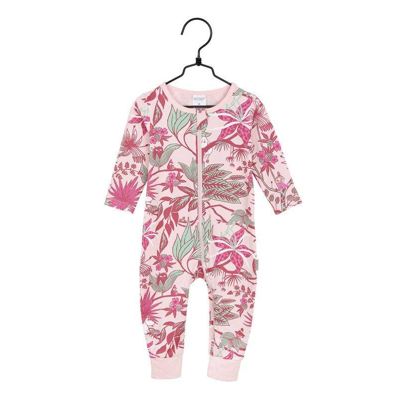 Mumin - Djungelblomma pyjamas anilin