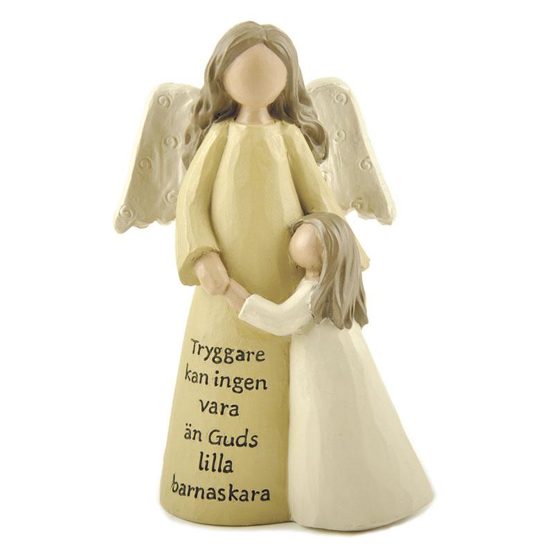 Ängel flicka Tryggare kan...
