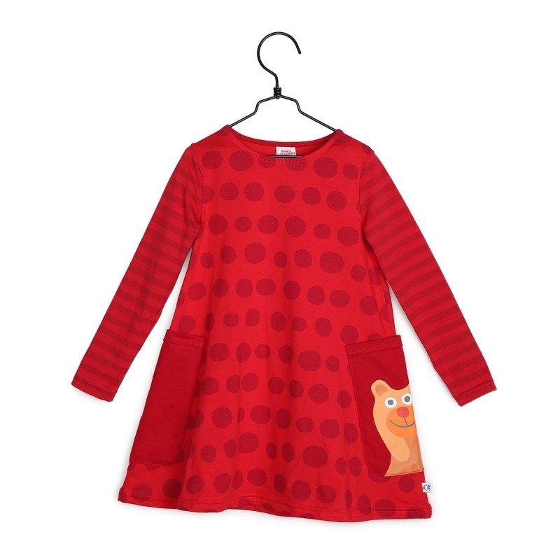 Lilla Tvåan klänning strl 116