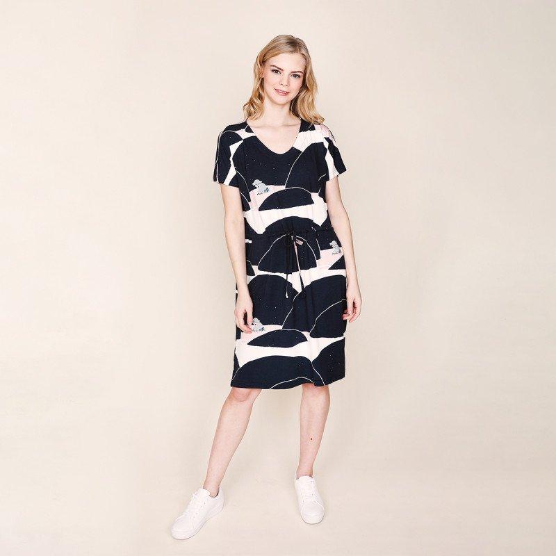 Mumin - Tea klänning kulle navy